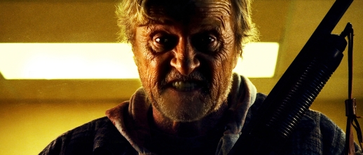 Rutger Hauer is one angry hobo!