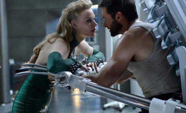 Wolverine (Jackman) with the evil Viper (Svetlana Khodchenkova)