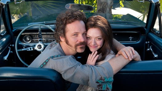 Amanda Seyfried and Peter Sarsgaard in Lovelace