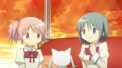 Just a quiet afternoon with Kyubey.