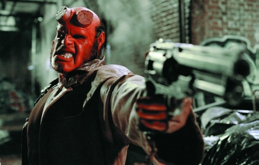 Evil never looked so good, Ron Perlman as Hellboy!