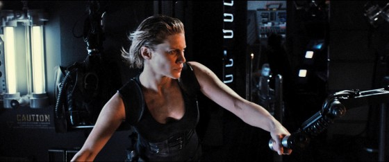 Katee Sackhoff doing her Ripley thing!