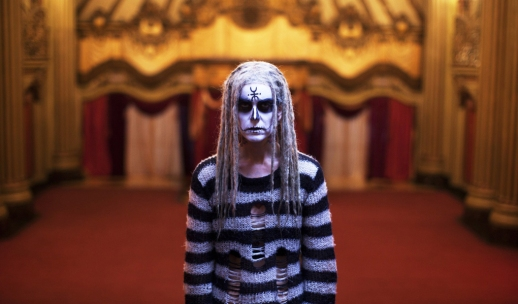 Sheri Moon Zombie, clearly not impressed with her make-up.