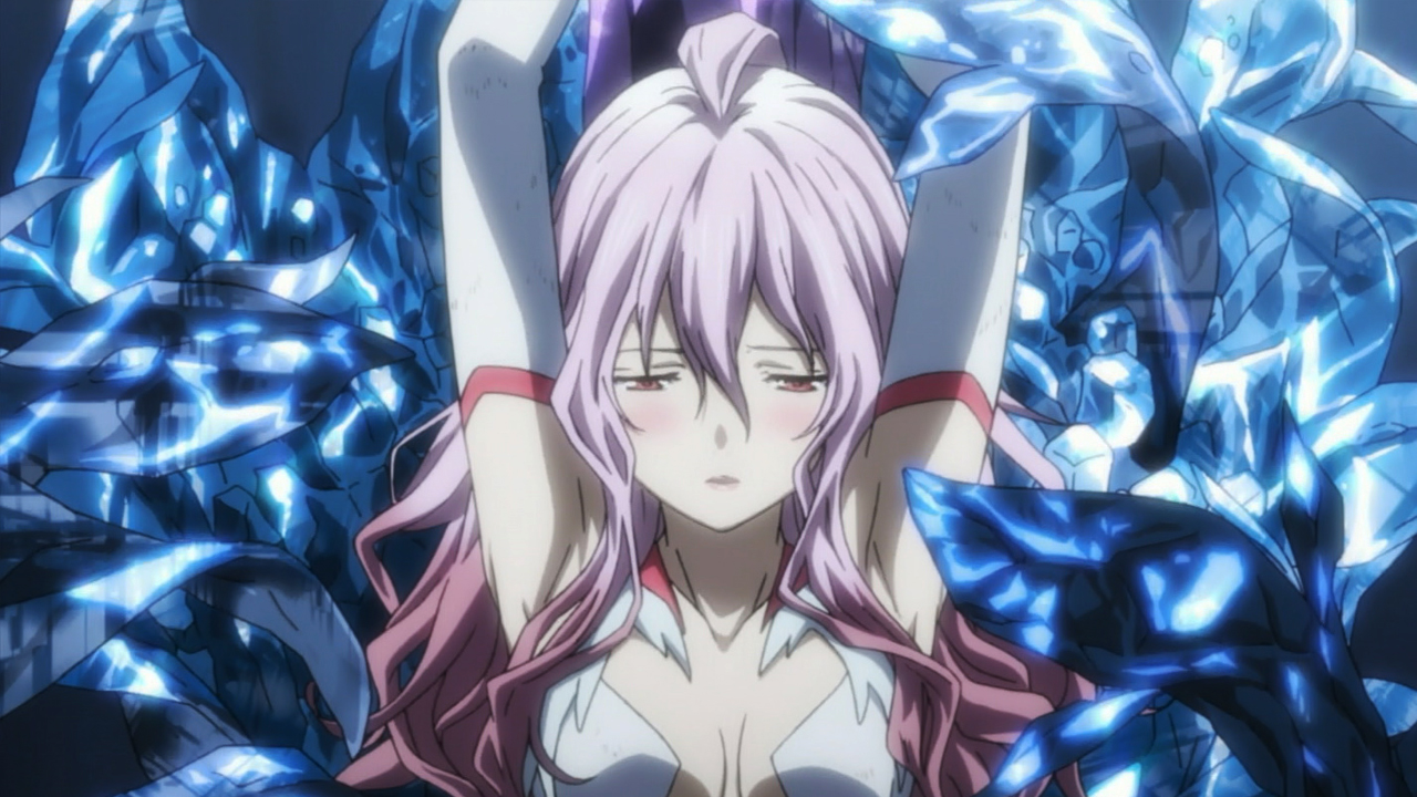 Guilty crown inori white battle dress