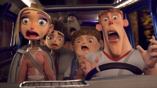 Even stop-motion models are horrified by today's traffic conditions!