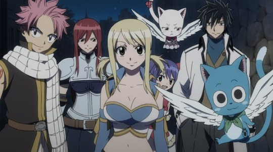 Team Natsu, all set for their next big adventure!
