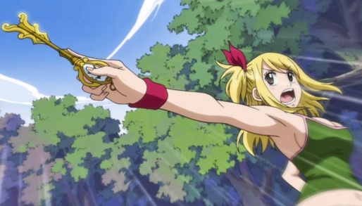 Lucy's not giving away the key to her heart without a fight!
