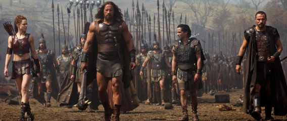 Who put the glad in gladiator? Hercules!