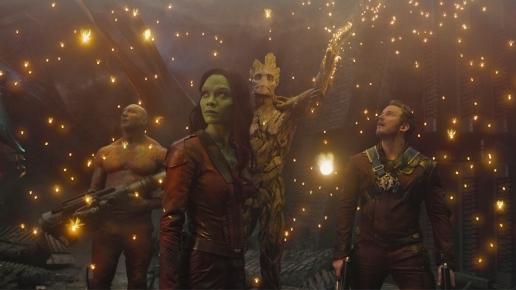 Groot ... lightening the mood!