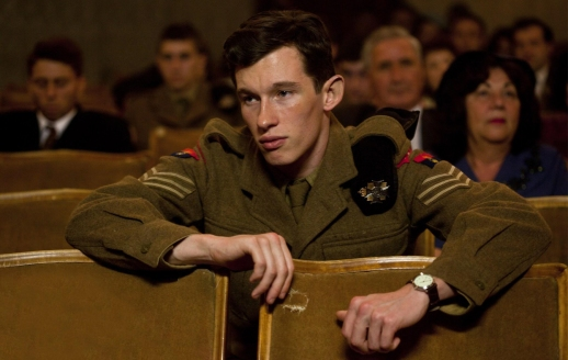 Although out of the base, Callum Turner is still dressed to kill!