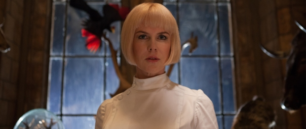 Nicole Kidman ... doing her best Cruella de Vil!