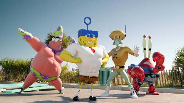 Move over Avengers and make way for the Spongers!