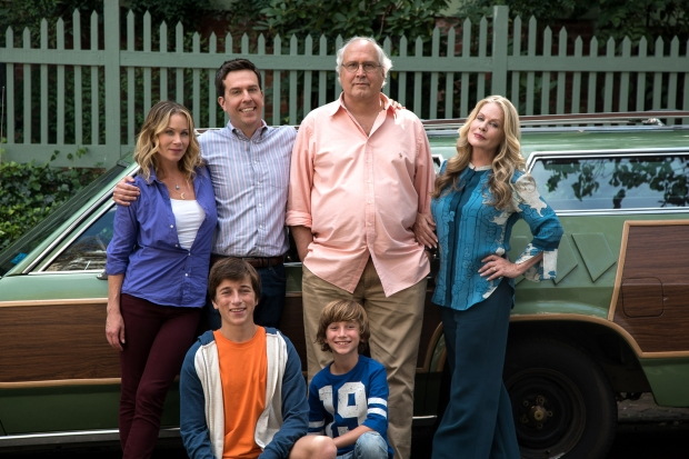 Set off on 'holiday road' with the Griswold family!