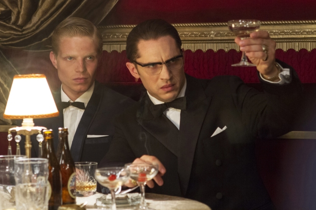 Tom Hardy toasts to ... well, Tom Hardy.