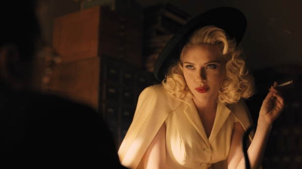 Johansson brings classic glamor back to the big screen!
