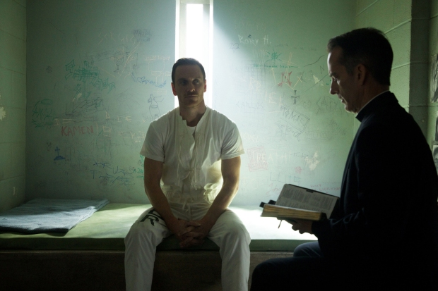 'Forgive me, Father, for I have sinned' - Producer Michael Fassbender
