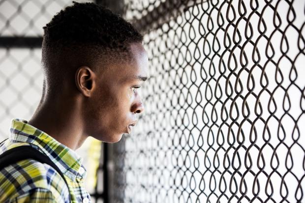 The other side of Denzel Washington's fence